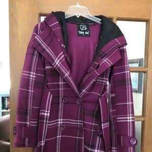 Lightweight women's pea coat